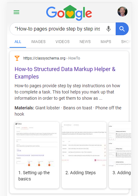 How to create How-to Structured Data for Google